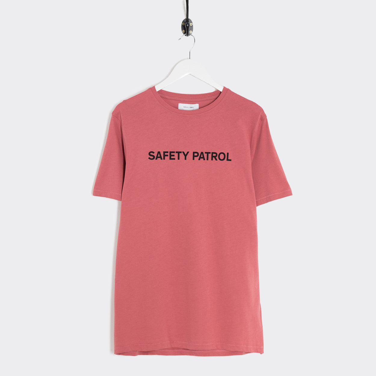 Soulland Felix T-Shirt - Dusty Coral  - CARTOCON