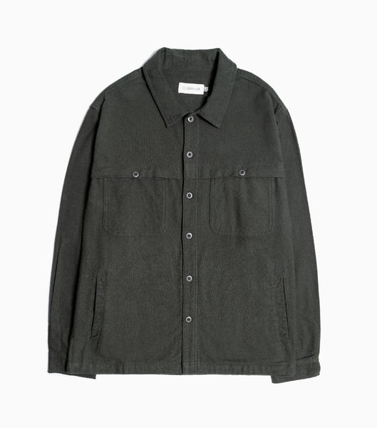 Satta Front Yoke Overshirt - Alpine Green Shirt - CARTOCON