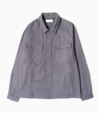 Satta Wulu Overshirt - Indigo Jacket - CARTOCON