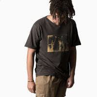 Satta Tanum Tee - Washed Black Not Listed - CARTOCON