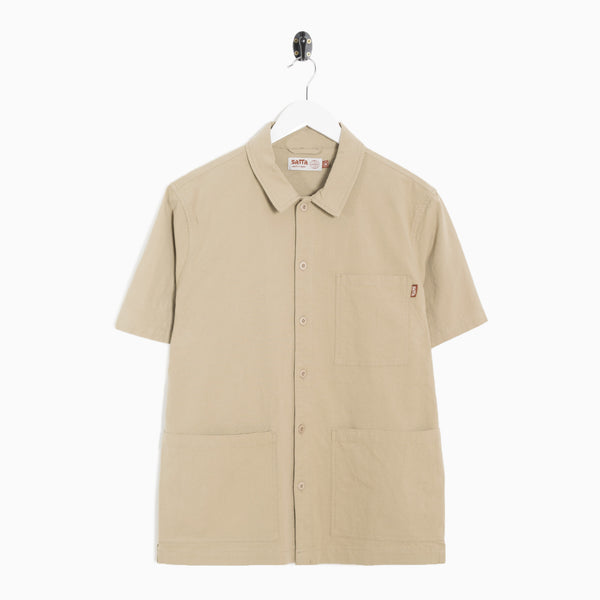 Satta Geo Shirt - Sand Not Listed - CARTOCON
