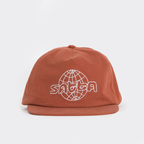 Satta Global Meltdown Cap - Brick Red - 1