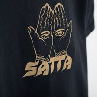 Satta Incense Supply T-Shirt - Washed Black T-Shirt - CARTOCON