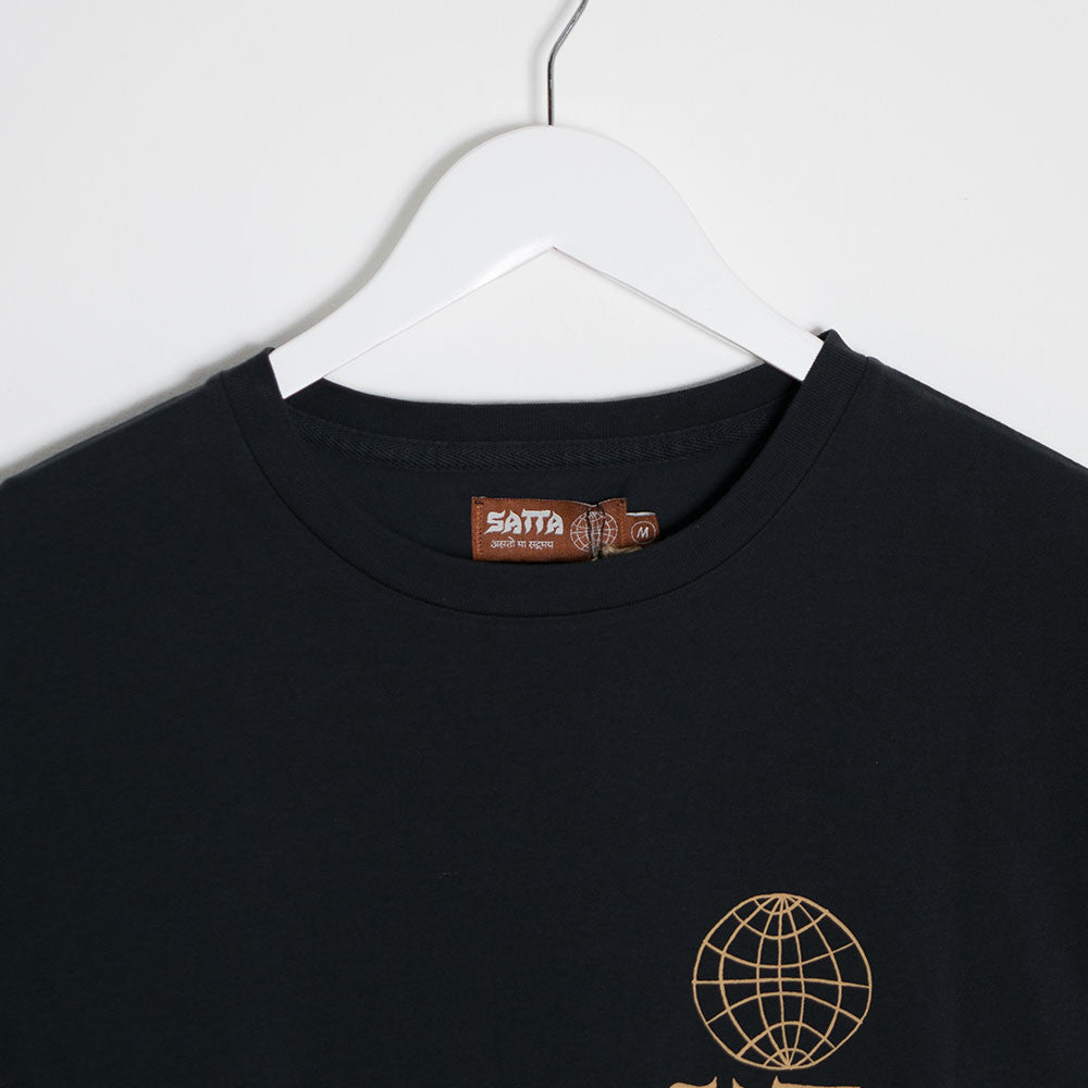 Satta Masala T-Shirt - Washed Black - 3