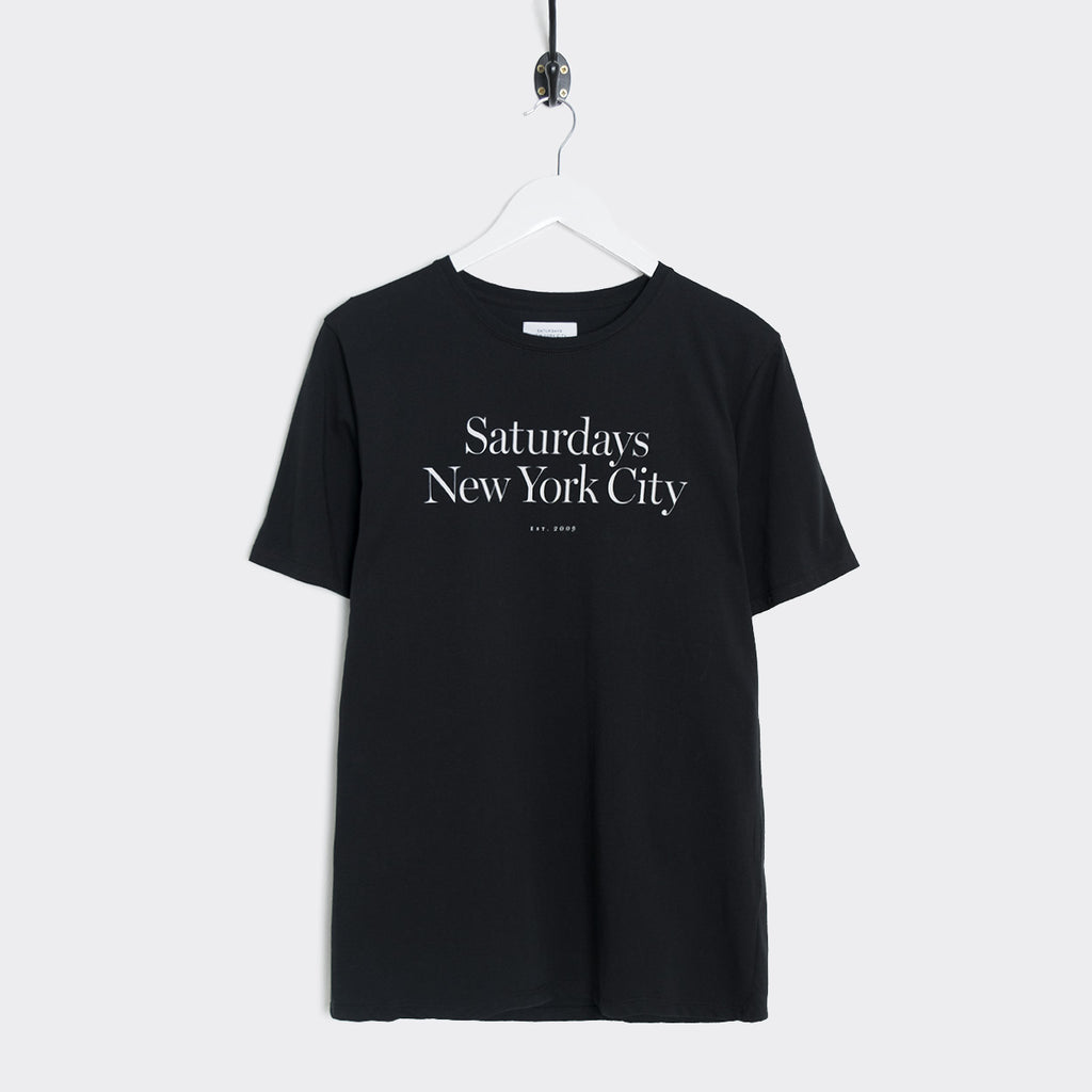 Saturdays NYC Miller Standard T-Shirt - Black