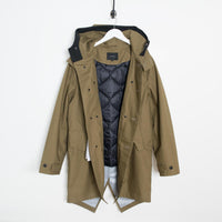 Saturdays NYC Nathan Parka - British Khaki  - CARTOCON