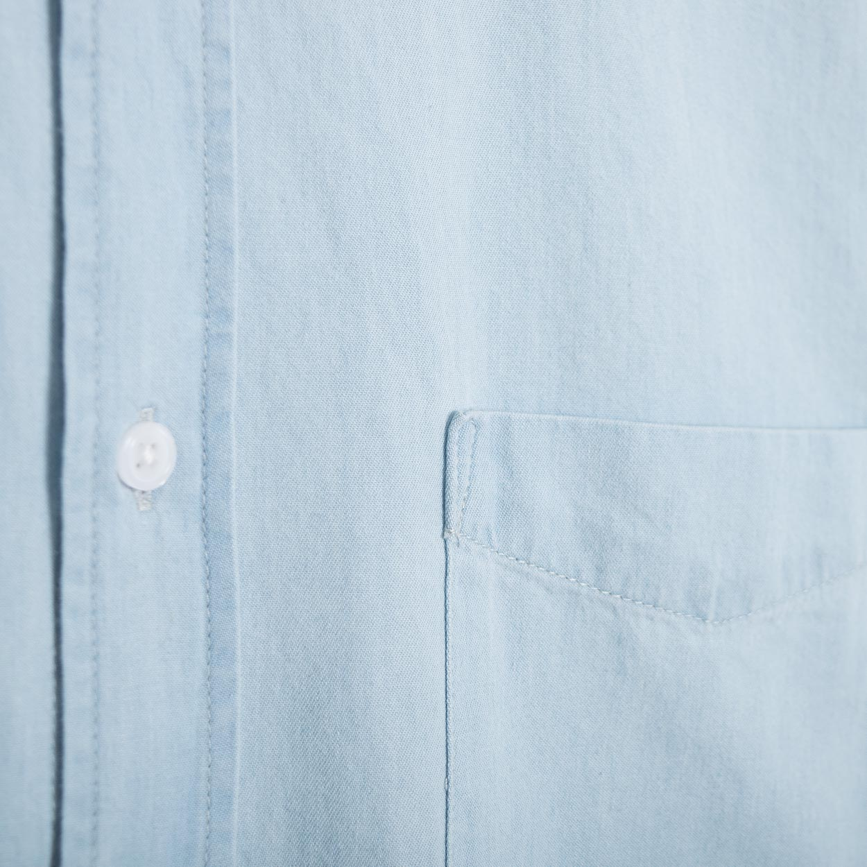 Saturdays NYC Crosby Denim Shirt - Washed Indigo