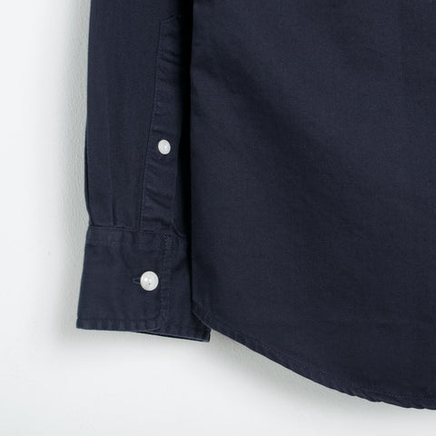 Saturdays NYC Angus Broken Twill Work Shirt - Midnight Shirt - CARTOCON