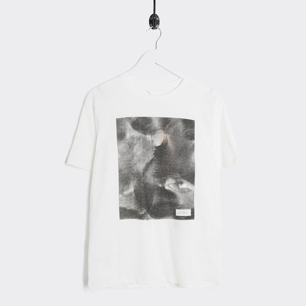 Saturdays NYC Process Pattern Fill Graphic T-Shirt - Ivory
