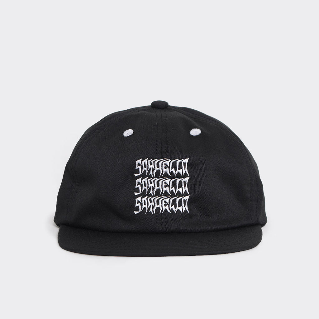 Say Hello Excel Logo Cap - Black - 1