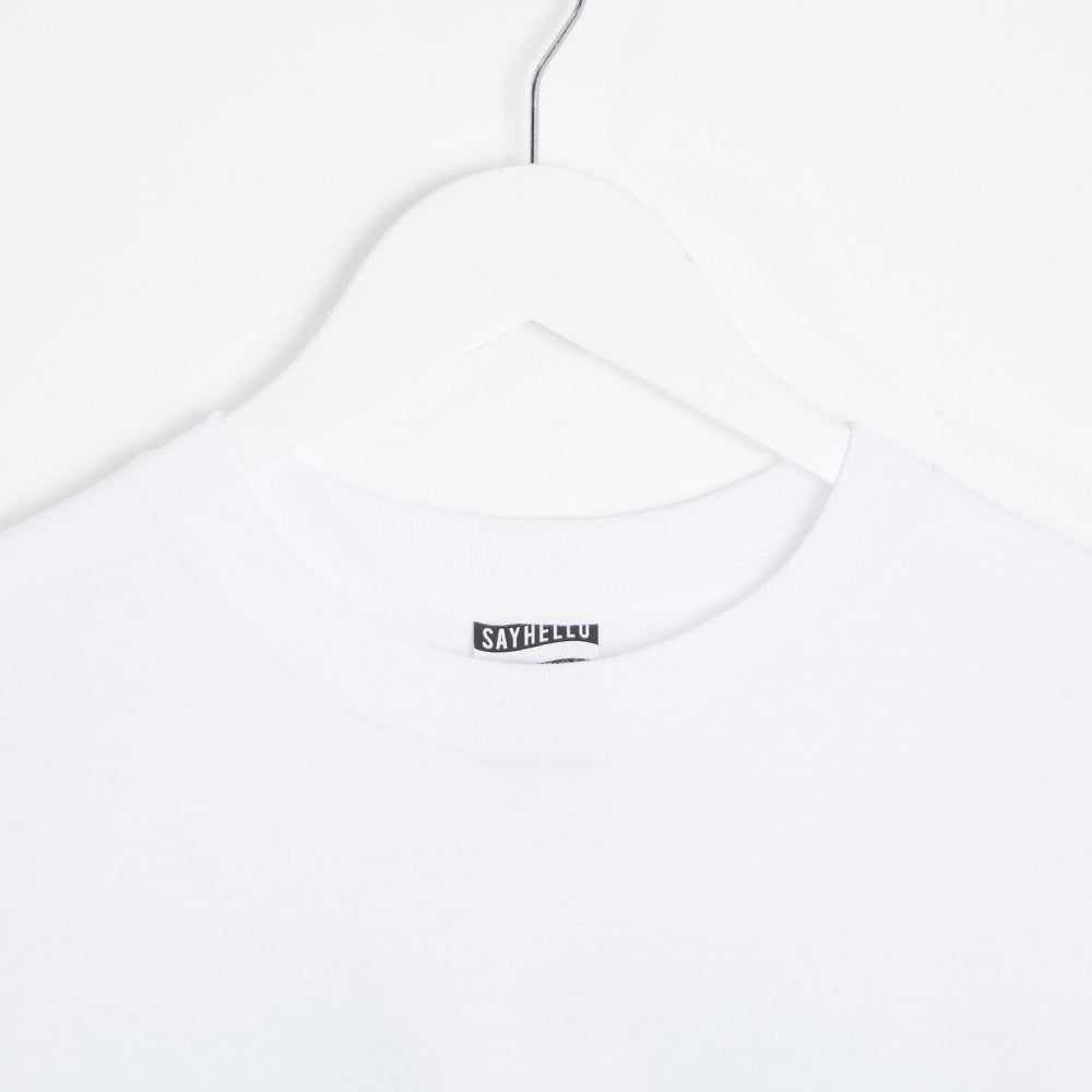 Say Hello Patience L/S T-Shirt - White - 3