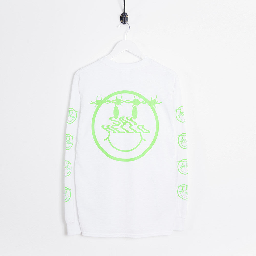 Say Hello Patience L/S T-Shirt - White - 2