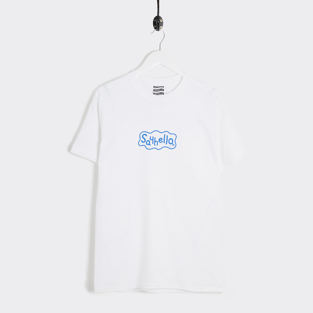 Say Hello P-Logo T-Shirt - White