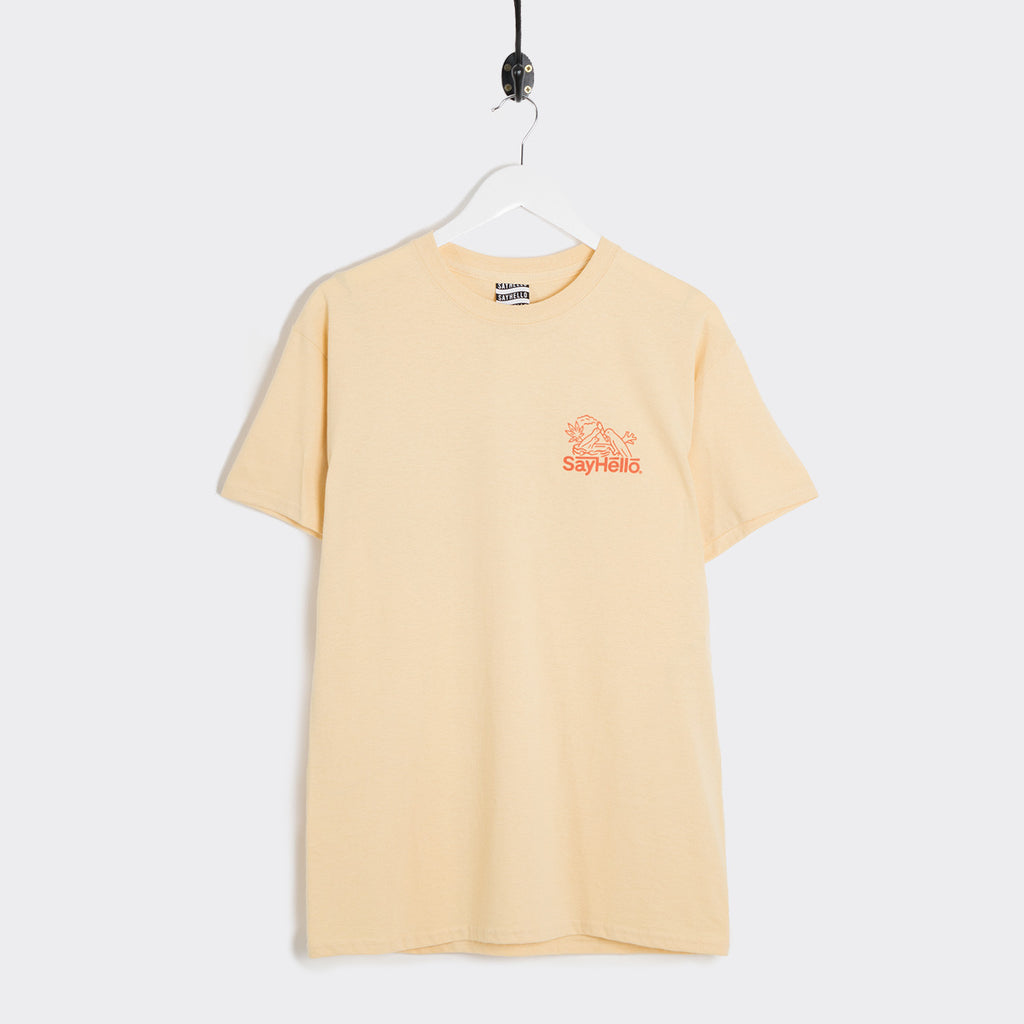 Say Hello Break T-Shirt - Gold