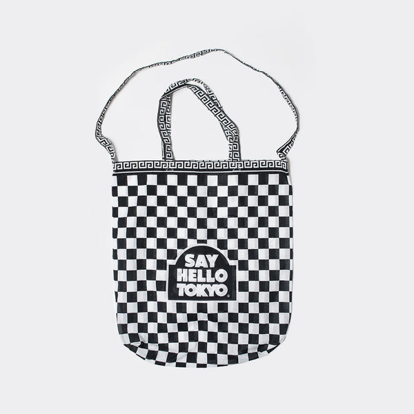 Say Hello Easy to Access Tote Bag - Black - 1