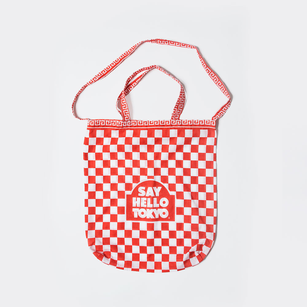 Say Hello Easy to Access Tote Bag - Red - 1