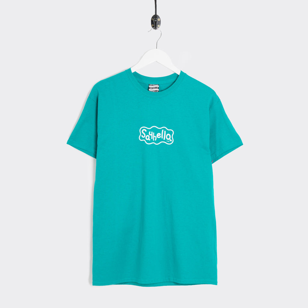 Say Hello P-Logo T-Shirt - Jade Dome