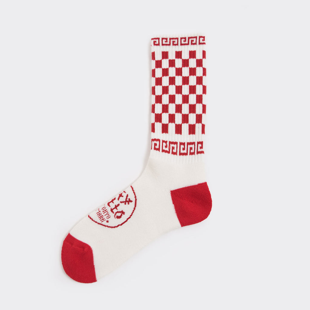 Say Hello Delivery Socks - Red - 1