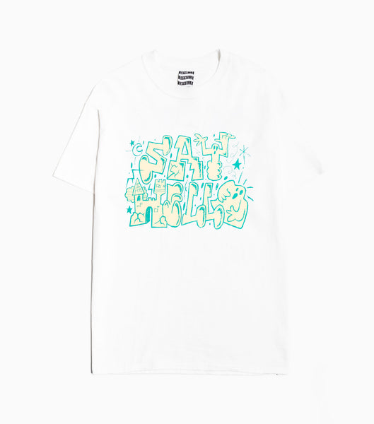 Sayhello Topten T-Shirt - White T-Shirt - CARTOCON