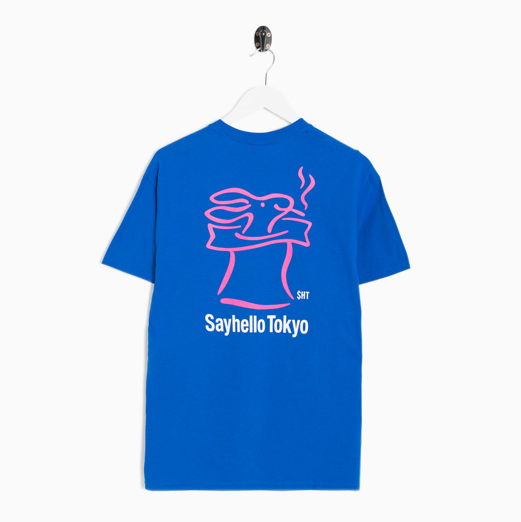 Sayhello Skip T-Shirt - Royal