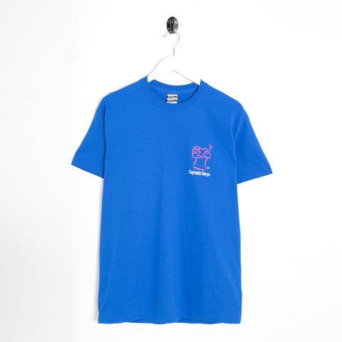 Sayhello Skip T-Shirt - Royal Not Listed - CARTOCON