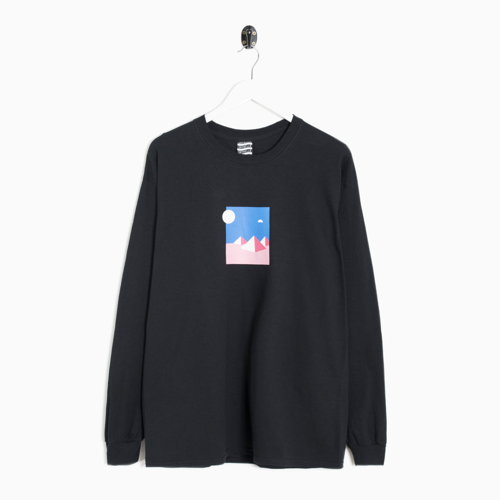 Sayhello Mystery Long Sleeve T-Shirt - Black