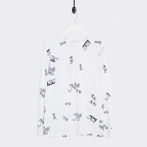 Soulland Dewayne Long Sleeve T-Shirt - White T-Shirt - CARTOCON
