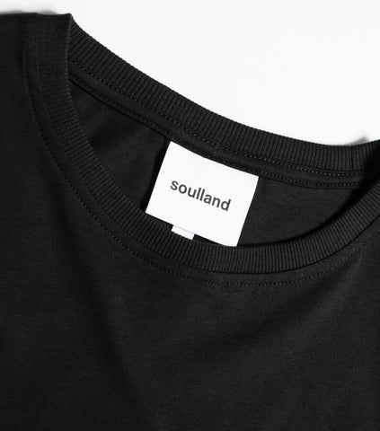 Soulland Malky T-Shirt - Black T-Shirt - CARTOCON