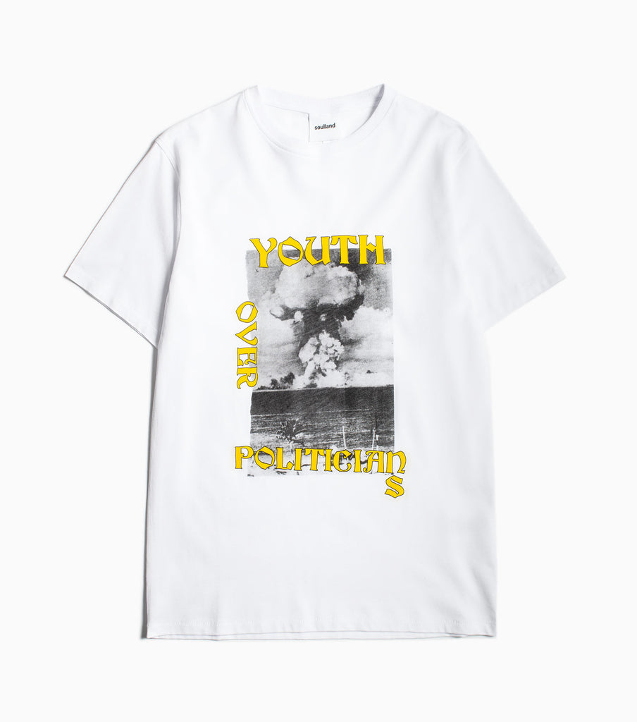 Soulland Murph T-Shirt - White