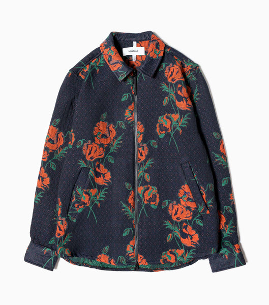 Soulland Rose Mapp Zip Jacket - Multi Jacket - CARTOCON