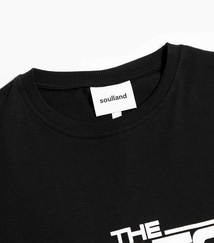 Soulland Ted T-Shirt - Black T-Shirt - CARTOCON