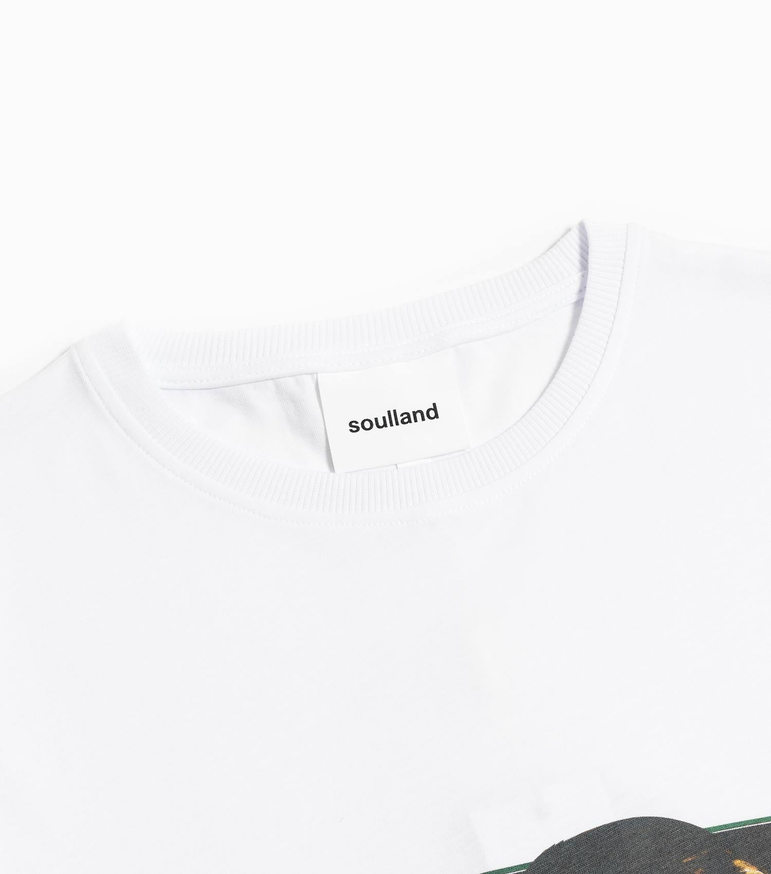 Soulland Otto T-Shirt - White T-Shirt - CARTOCON