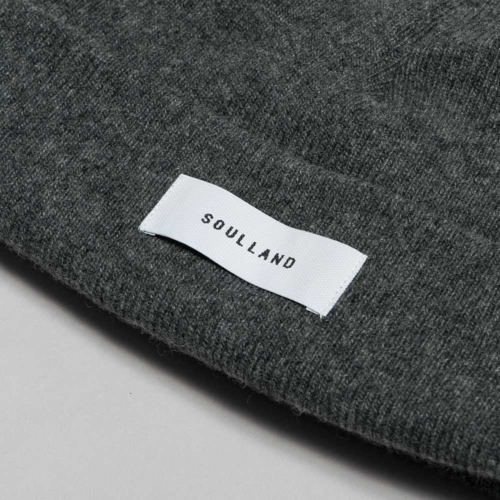 Soulland Villy Beanie – Dark Grey - 2