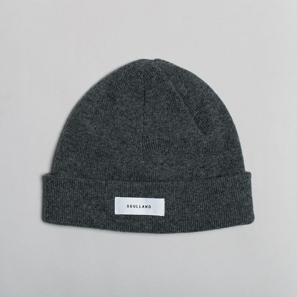 Soulland Villy Beanie – Dark Grey - 1