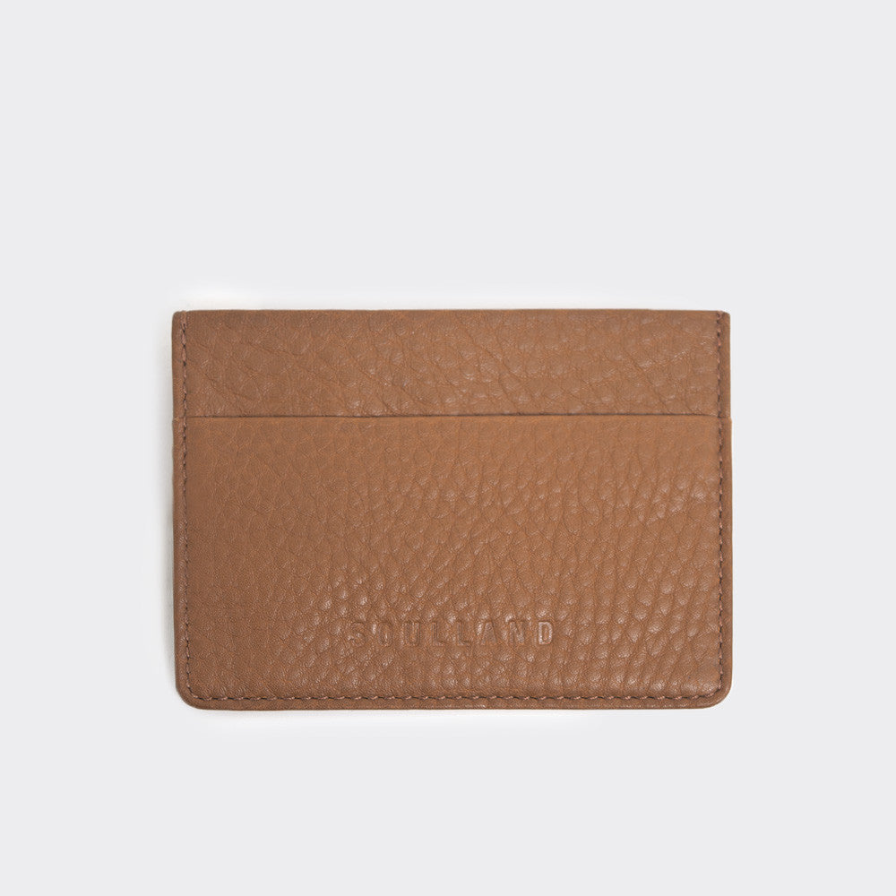 Soulland Frauder Card Holder - Brown - 1