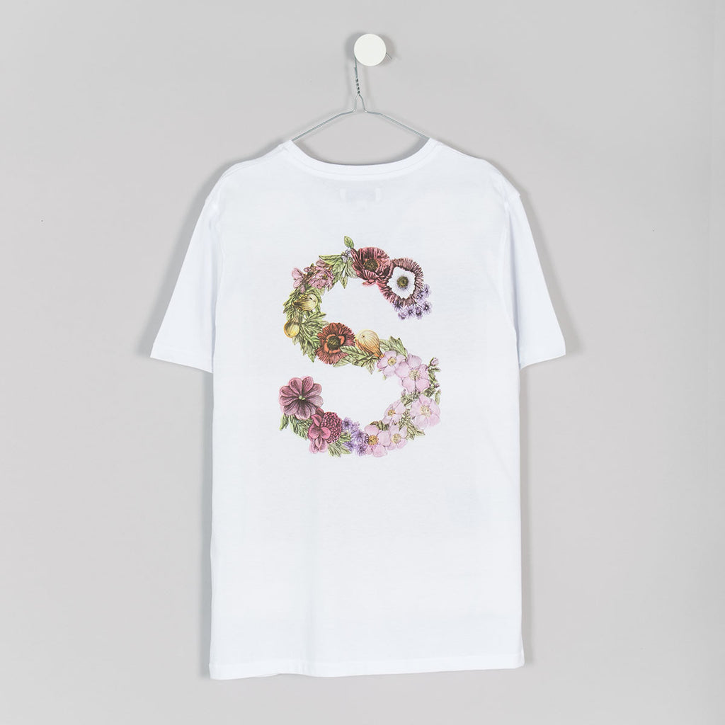 Soulland Flower T-Shirt – White - 2