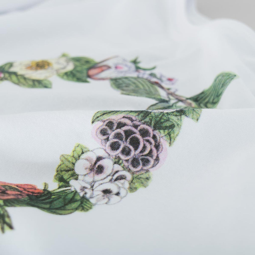 Soulland Flower T-Shirt – White - 4
