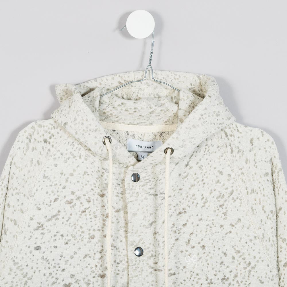Soulland Ishod Hooded Sweatshirt - Beige - 2