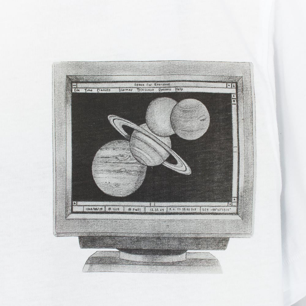 Soulland Planets T-Shirt - White - 4