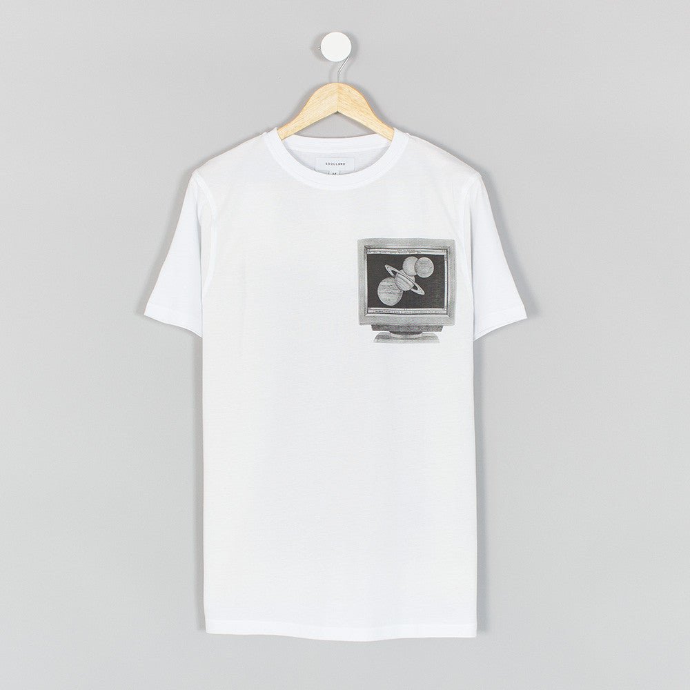 Soulland Planets T-Shirt - White - 1