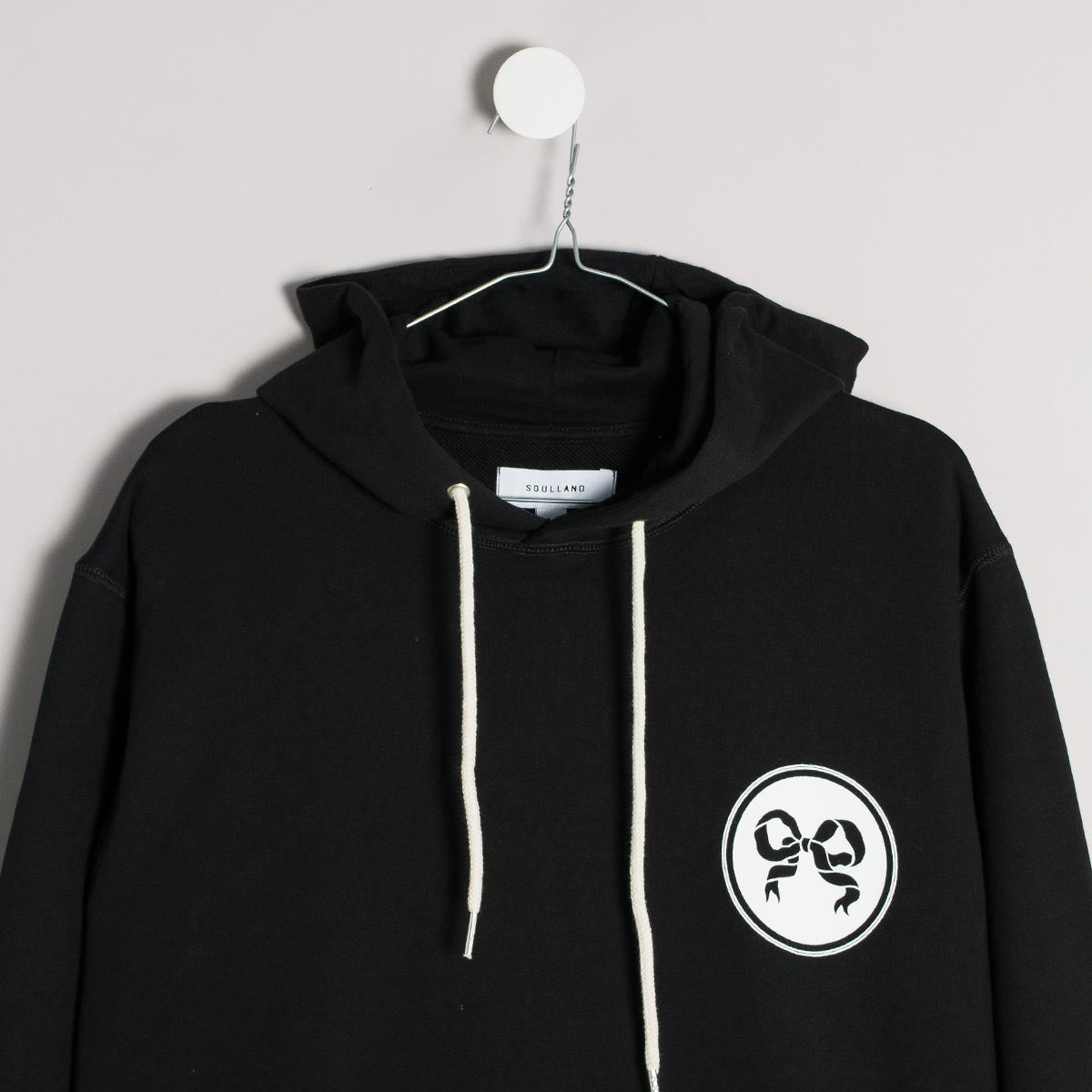 Soulland Eclipse Hoody – Black - 3