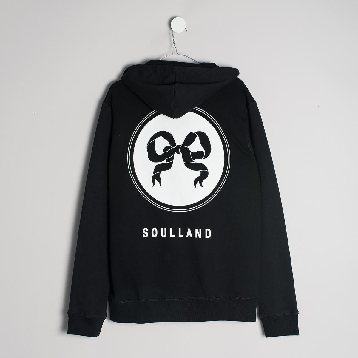 Soulland Eclipse Hoody – Black  - CARTOCON