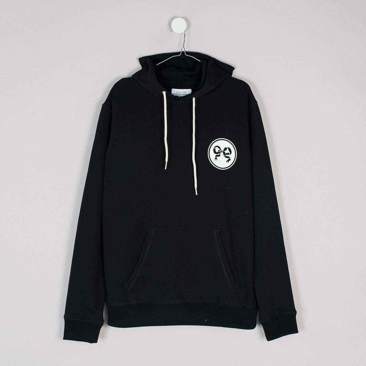Soulland Eclipse Hoody – Black - 1