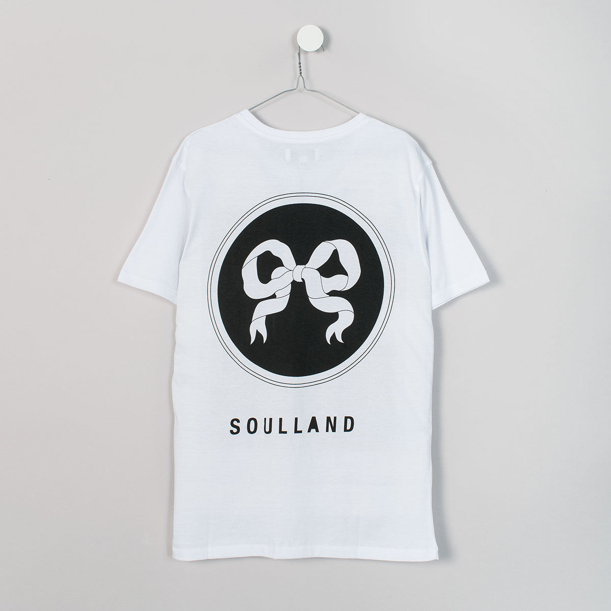 Soulland Ribbon T-Shirt – White - 2
