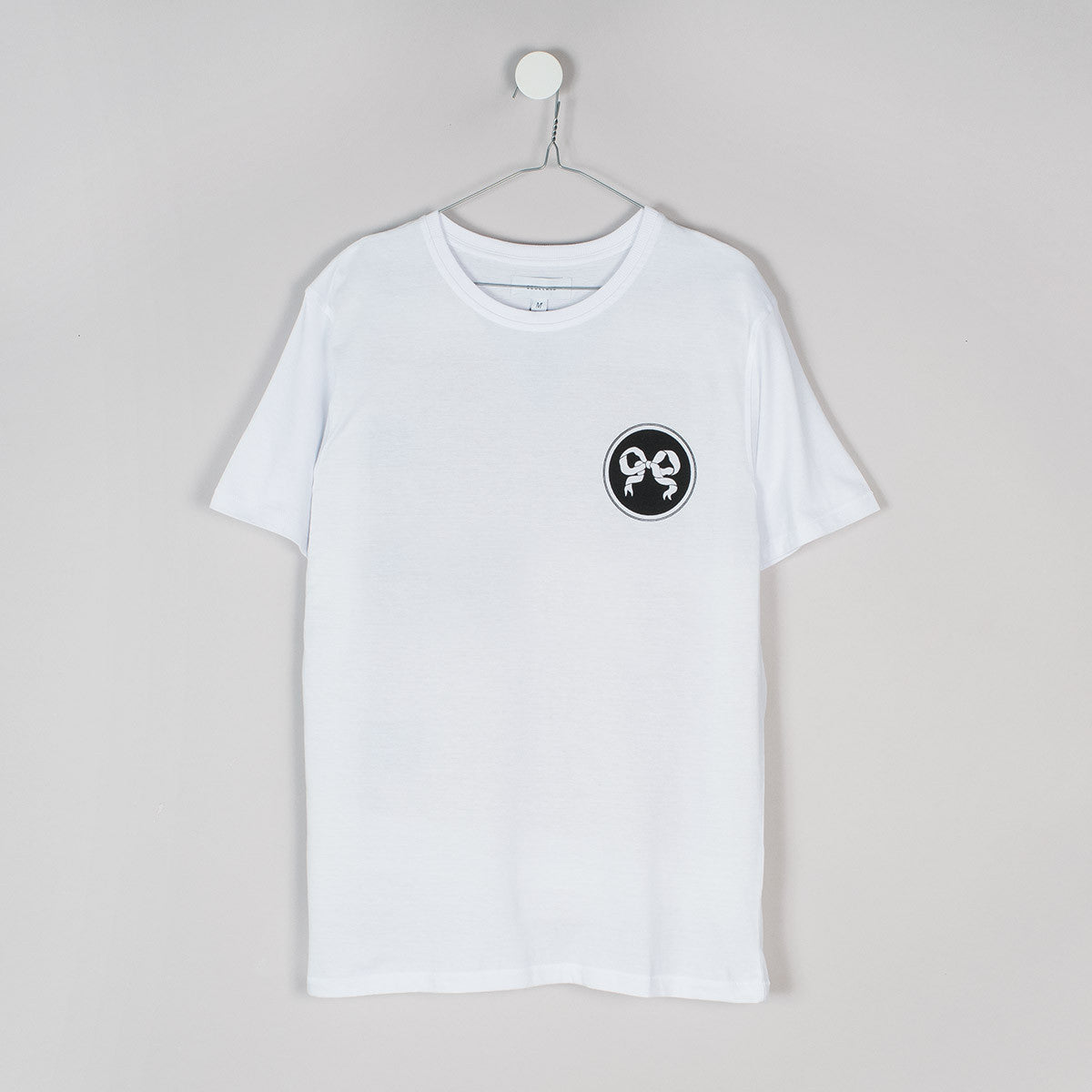 Soulland Ribbon T-Shirt – White  - CARTOCON