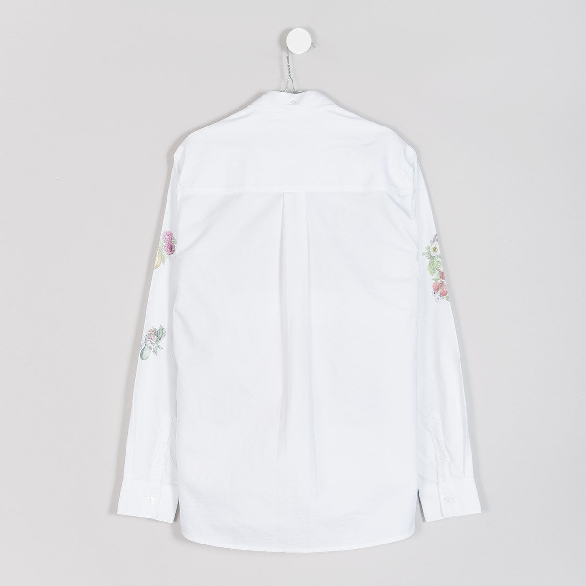 Soulland Samuel Shirt – White/Multi  - CARTOCON