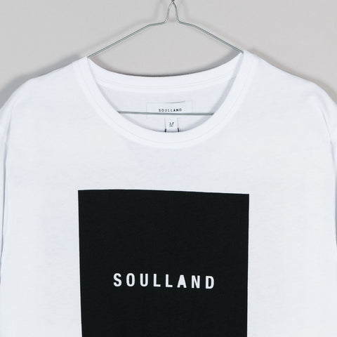 Soulland Soulsquare T-Shirt – White  - CARTOCON