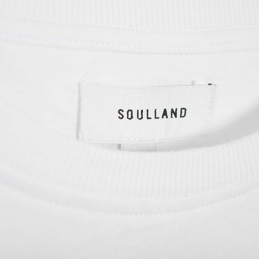 Soulland Wenger T-Shirt - White  - CARTOCON