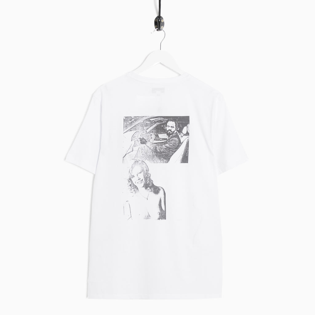 Soulland Cicero T-Shirt - White T-Shirt - CARTOCON