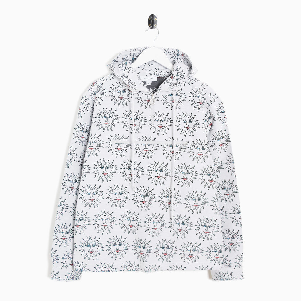 Soulland Jordy Hooded Jacquard Jacket - Multi Sun